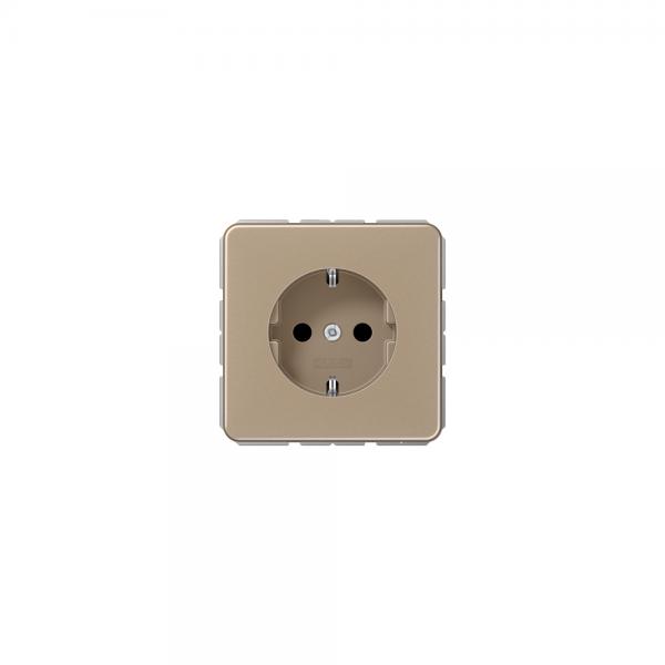 Jung CD1520GB SCHUKO-Steckdose gold-bronze