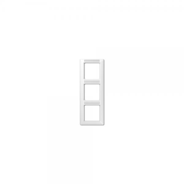 Jung AS583BFINAWW Abdeckrahmen 3fach bruchsicher alpinweiß hochglänzend