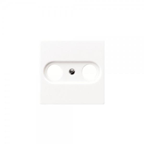 Jung ABA561PLTV Abdeckung Antennen-Steckdose cremeweiss antibakteriell
