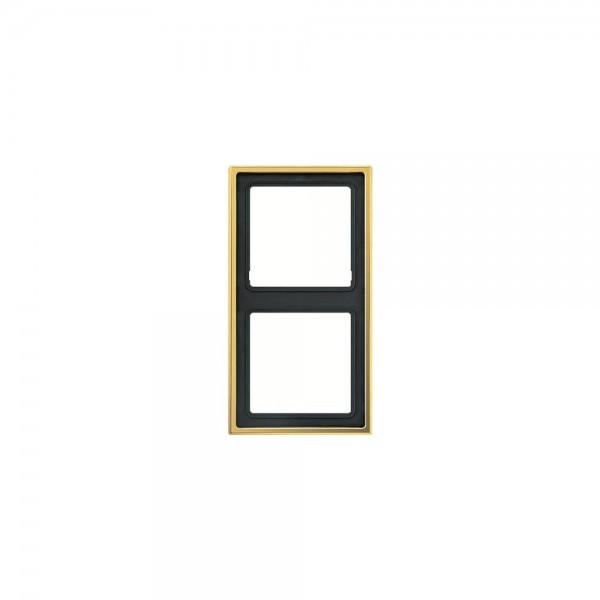 Jung GO2982 Abdeckrahmen 2fach goldfarben