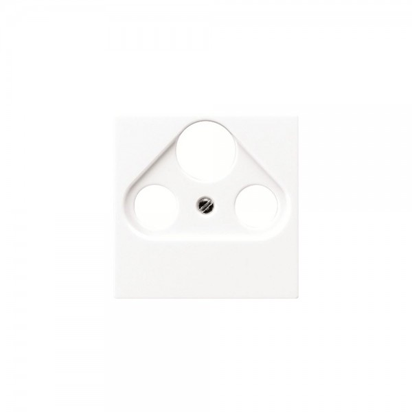 Jung A561BFPLSAT Abdeckung Antennen-Steckdose cremeweiss hochglänzend