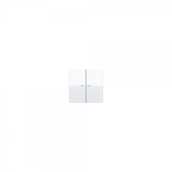 Jung CD595KO5BFWW Wippe Serienschalter Kontroll bruchsicher alpinweiß hochglänzend