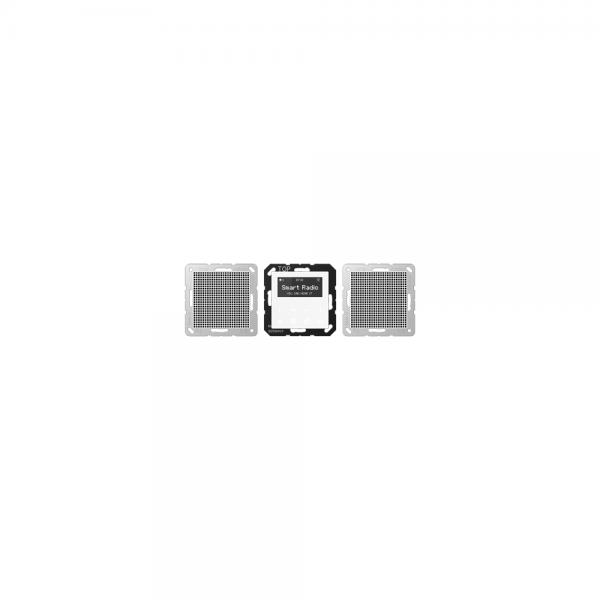Jung RADA528WW Radio mit Display Set Stereo alpinweiß