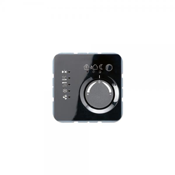 Jung CD2178SW KNX Stetigregler mit integriertem Busankoppler schwarz
