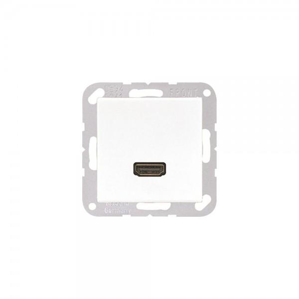 Jung MAA1112WW Multimediaanschlusssystem HDMI alpinweiß