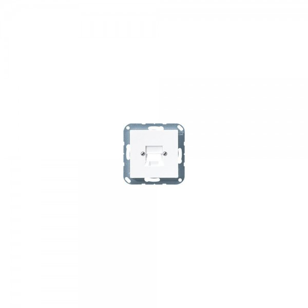 Jung A569-1NWEWW Abdeckung für Modular-Jack alpinweiss