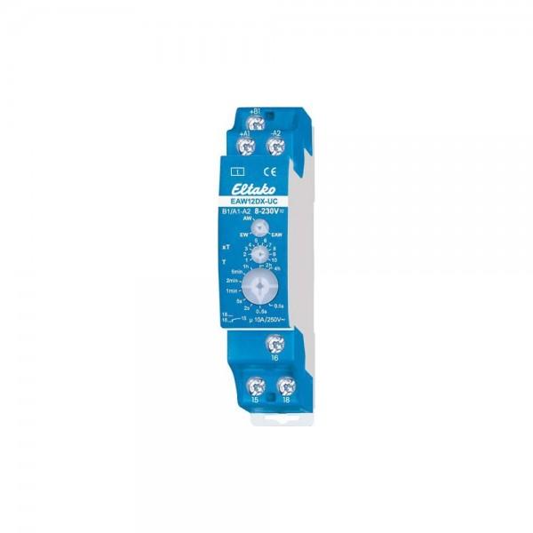 Eltako EAW12DX-UC Zeitrelais Ein/Aus/Wischrelais 23001702 analog einstellbar