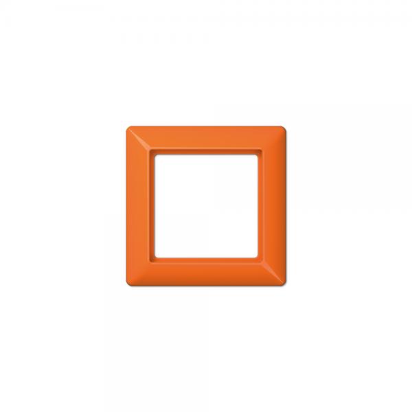 Jung AS581BFO Abdeckrahmen 1fach bruchsicher orange hochglänzend