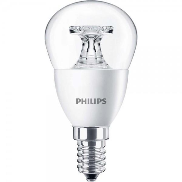 Philips LED-Lampe 4W 2700K E14 CorPro LEDluster   CorePro LEDcandle ...