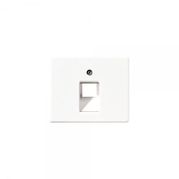 Jung SL569-1UASW Abdeckung ISDN/Netzwerkdose 1f schwarz