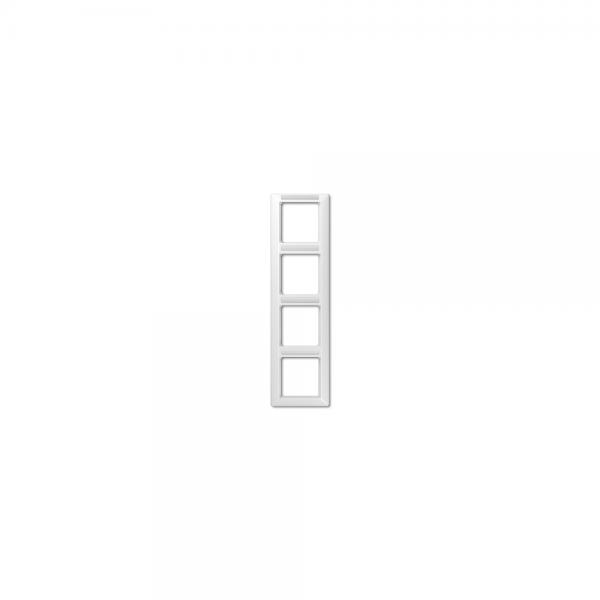 Jung AS584BFINAWW Abdeckrahmen 4fach bruchsicher alpinweiß hochglänzend