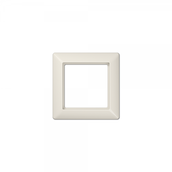 Jung AS581BF Abdeckrahmen 1fach bruchsicher cremeweiß hochglänzend