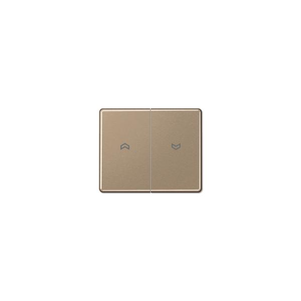 Jung SL595PGB Wippe Symbole für Jalousieschalter gold-bronze