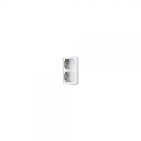 Jung CD582AGR Aufputz-Kappe 2fach grau