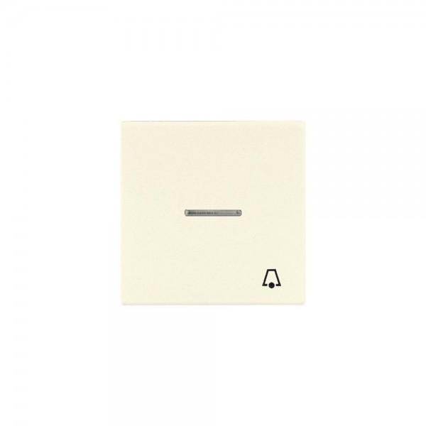 Jung LS990KO5K Kontroll-Wippe mit Symbol Klingel cremeweiß