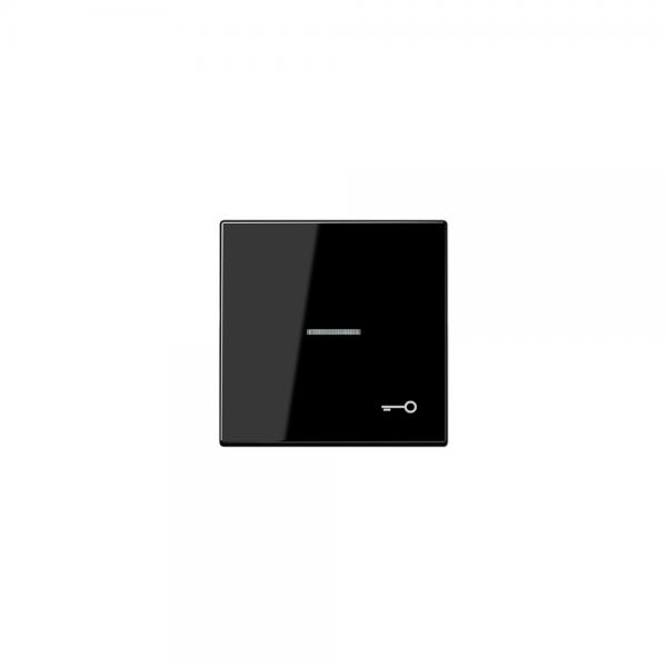 Jung LS990KO5TSW Kontroll-Wippe mit Symbol Tür schwarz