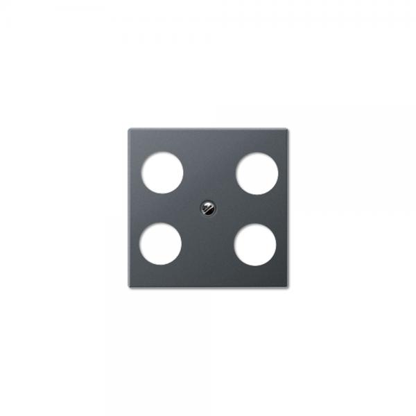 Jung A561-4SAT1ANM Abdeckung Antennen-Steckdose anthrazit matt
