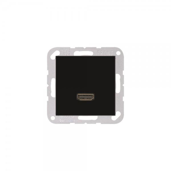 Jung MAA1112SW Multimediaanschlusssystem HDMI schwarz