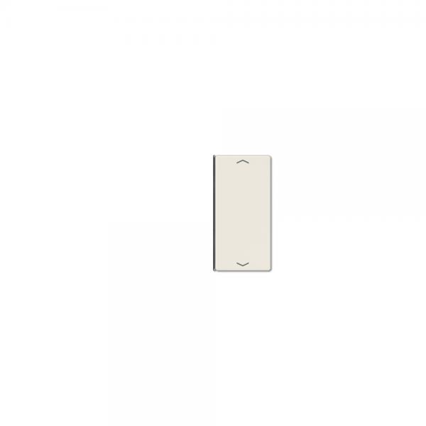 Jung A402TSAP Taste 2fach mit Symbolen Auf/Ab cremeweiß