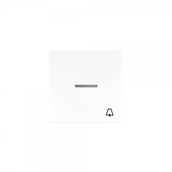 Jung LS990KO5KWW Kontroll-Wippe mit Symbol Klingel alpinweiß