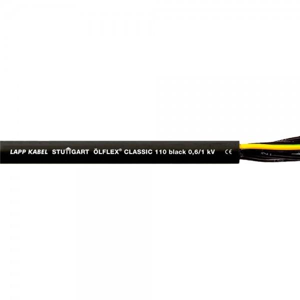 Lapp Kabel ÖLFLEX CLASSIC 110 Black 0,6/1kV Erdkabel 3x0,75mm² 1120233 Meterware