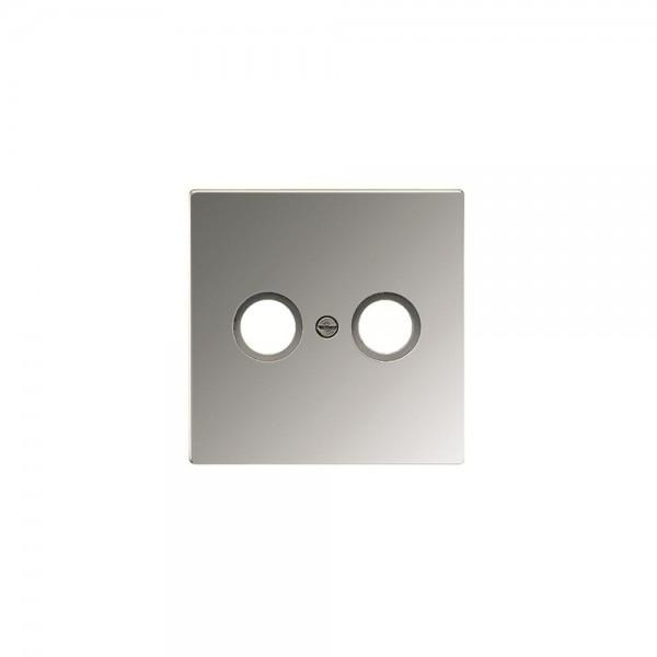 Jung GCR2990TV Abdeckung für Antennen-Steckdose 2f LS990 glanzchrom