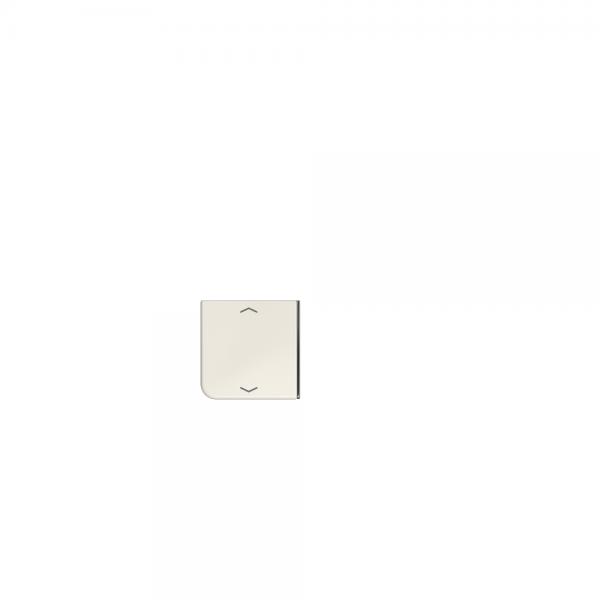 Jung CD404TSAP23 Taste 4fach mit Symbolen Auf/Ab cremeweiß