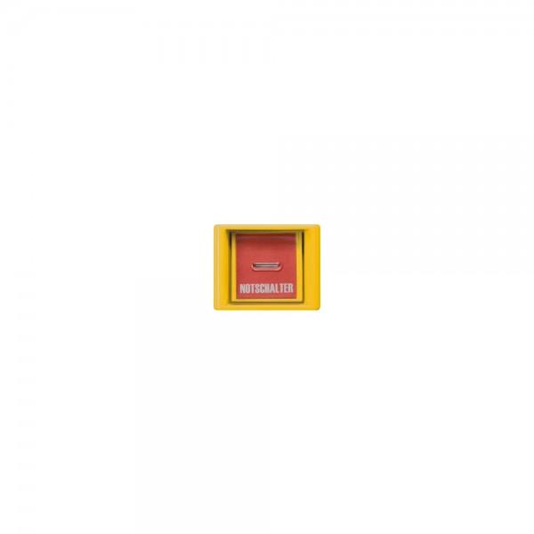 Jung AS561GLGE Abdeckung mit Glasscheibe Serie AS gelb