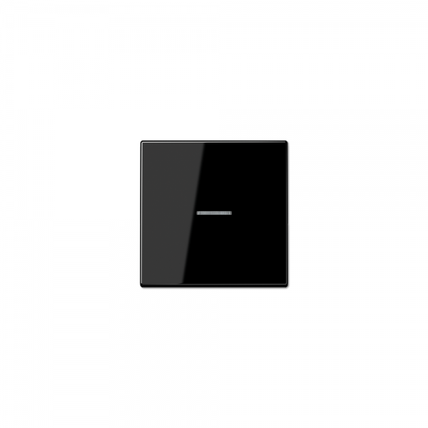 Jung LS990KO5SW Wippe Schalter/Taster Kontroll mit Lichtleiter schwarz
