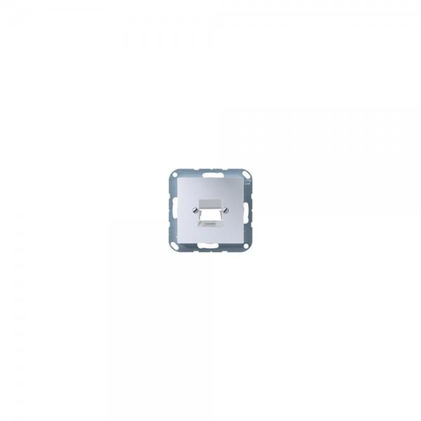 Jung A569-1NWEAL Abdeckung für Modular-Jack aluminium