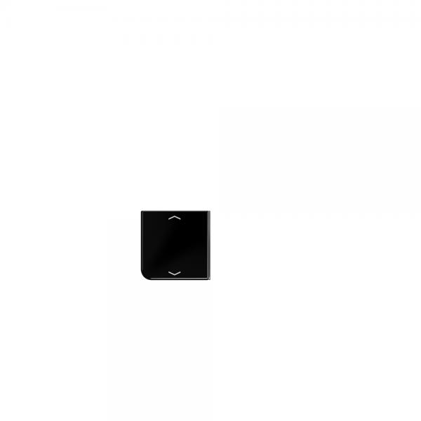Jung CD404TSAPSW23 Taste 4fach mit Symbolen Auf/Ab schwarz