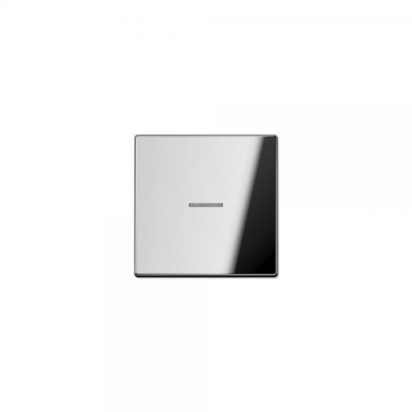 Jung GCR2990KO5 Wippe Schalter/Taster Kontroll mit Lichtleiter glanzchrom