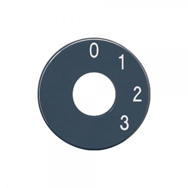 Jung SKS 1101-4 Skalenscheibe für Drehschalter anthrazit