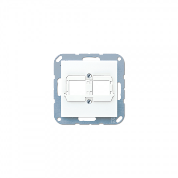 Jung A569-21BFACSWW Abdeckung Modular-Jack alpinweiß hochglänzend