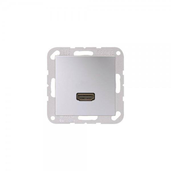 Jung MAA1112AL Multimediaanschlusssystem HDMI aluminium