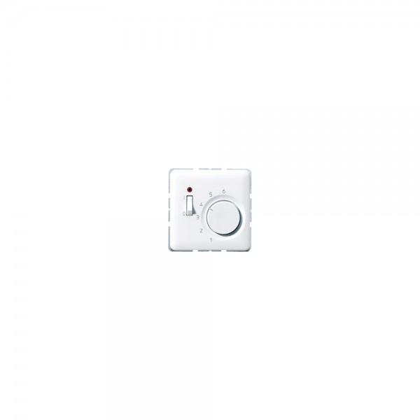 Jung TRCD241 Raumtemperaturregler mit Öffner 24V cremeweiß