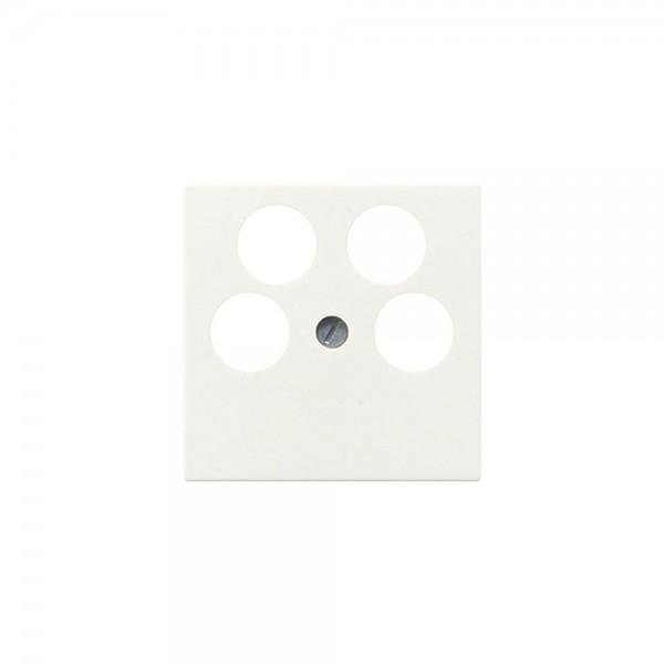 Jung A561-4SAT2 Abdeckung Antennen-Steckdose cremeweiss
