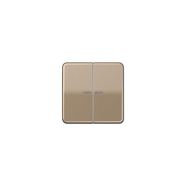 Jung CD595KO5GB Wippe für Serienschalter Kontroll gold-bronze