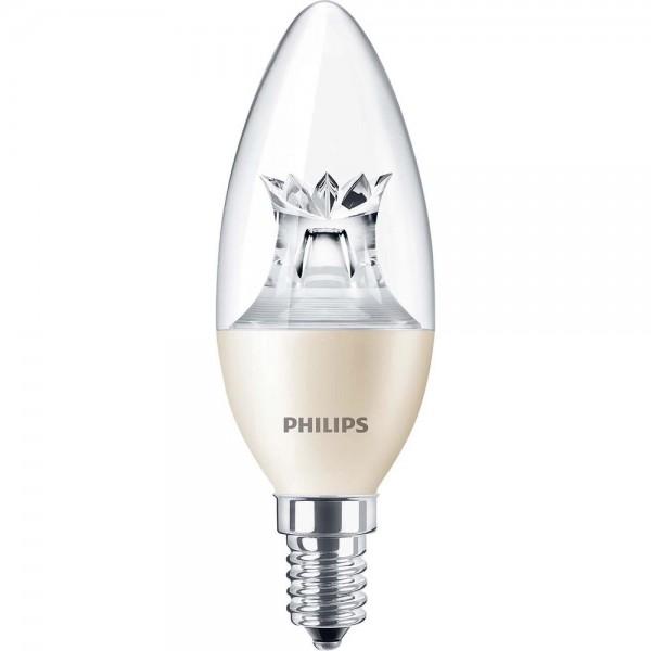 Philips LED-Lampe 6W 2700K 827 E14 dimmbar MASTER LEDcandle   MASTER ...