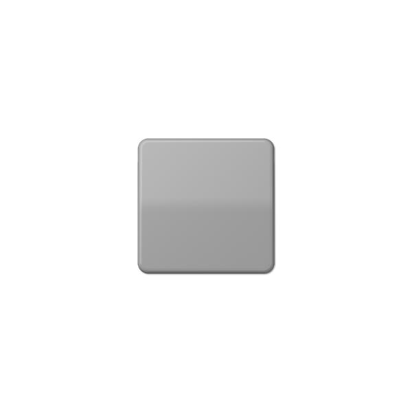 Jung CD590BFGR Wippe Schalter/Taster bruchsicher grau hochglänzend