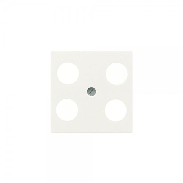 Jung A561-4SAT1 Abdeckung Antennen-Steckdose cremeweiss