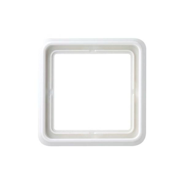 Jung CD581WW Abdeckrahmen 1-fach CD 500 alpinweiß