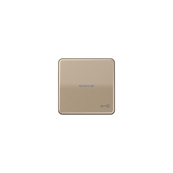 """Jung CD590KO5TGB Wippe mit Symbol """"Tür"""" Kontroll gold-bronze"""