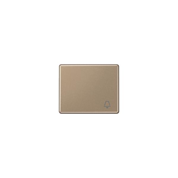 Jung SL590KGB Wippe Symbol Klingel gold-bronze