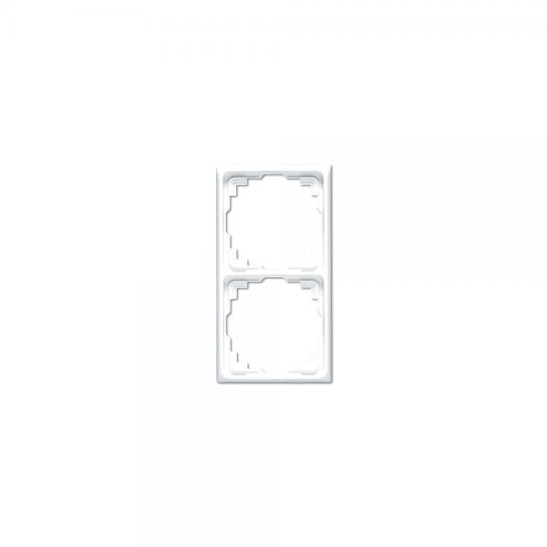 Jung CD582KGR Kabel-Kanal-Rahmen 2fach grau