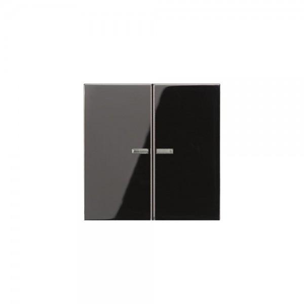 Jung LS995KO5SW Serien-Wippe mit Lichtleiter schwarz