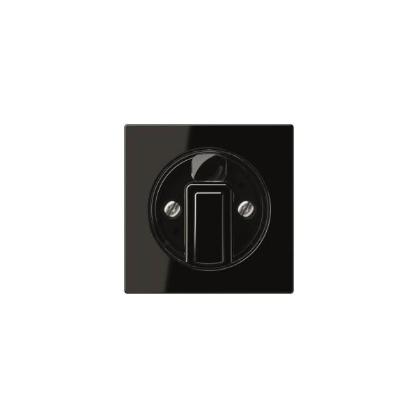 Jung A1541SW Abdeckung für Drehschalter schwarz