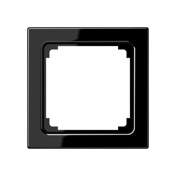Jung LS961ZSW Zwischenrahmen Serie LS schwarz hochglänzend