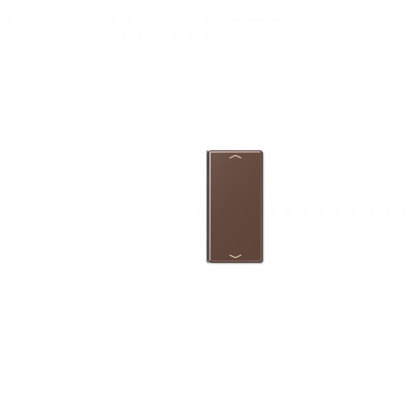 Jung A402TSAPMO Taste 2fach mit Symbolen Auf/Ab mokka