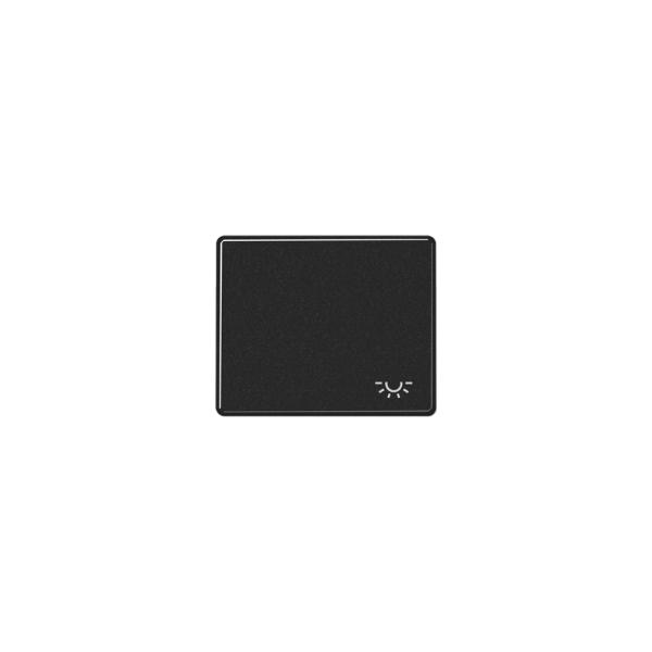 Jung SL590LSW Wippe mit Symbol Licht schwarz